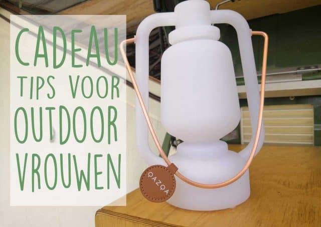 cadeau outdoor kamperen vrouw