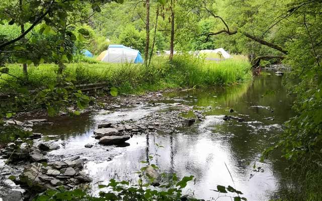 natuur camping duitsland