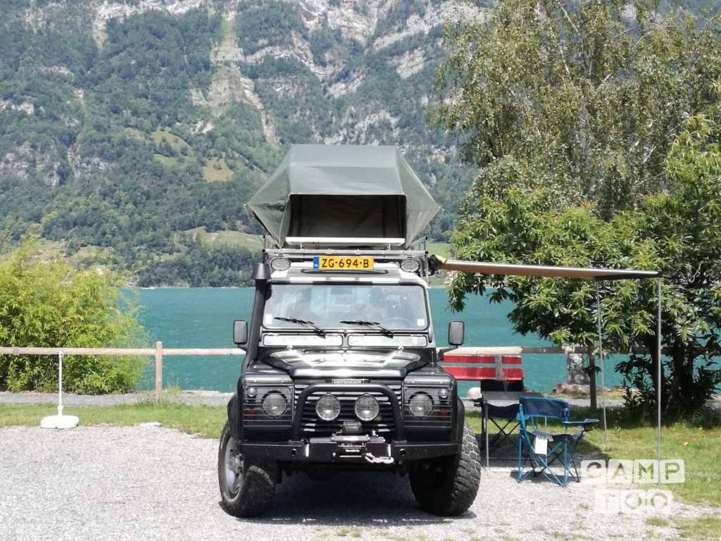Land rover camper uit 2001