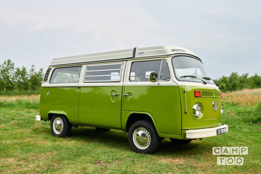 Volkswagen camper uit 1976