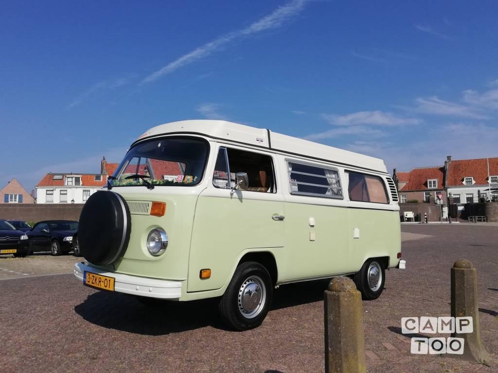Volkswagen camper uit 1978