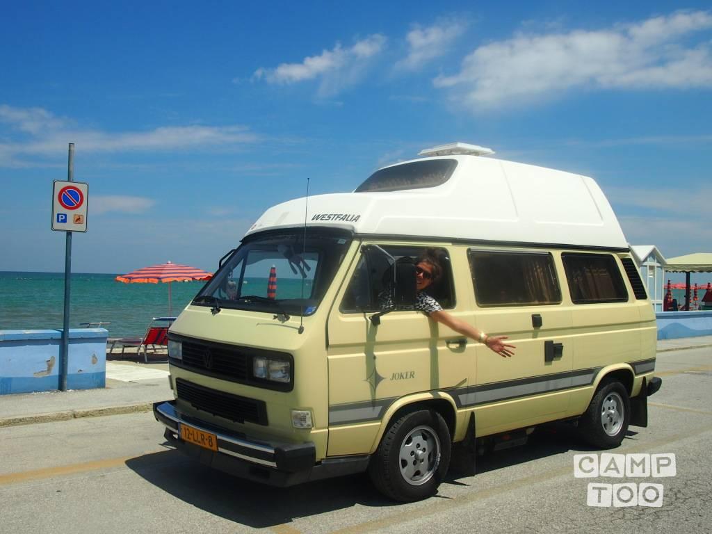 Volkswagen camper uit 1983