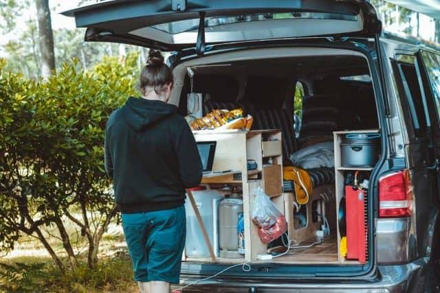workation camping