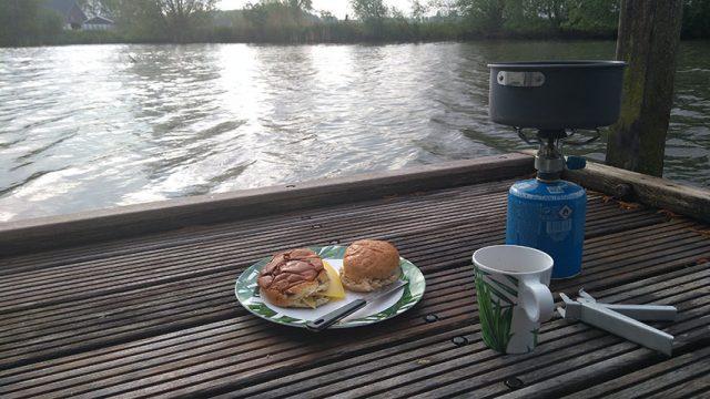 vlotkamperen ontbijt