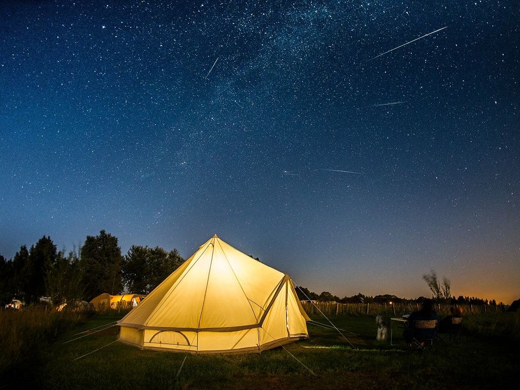 28. Nacht camping Friesland