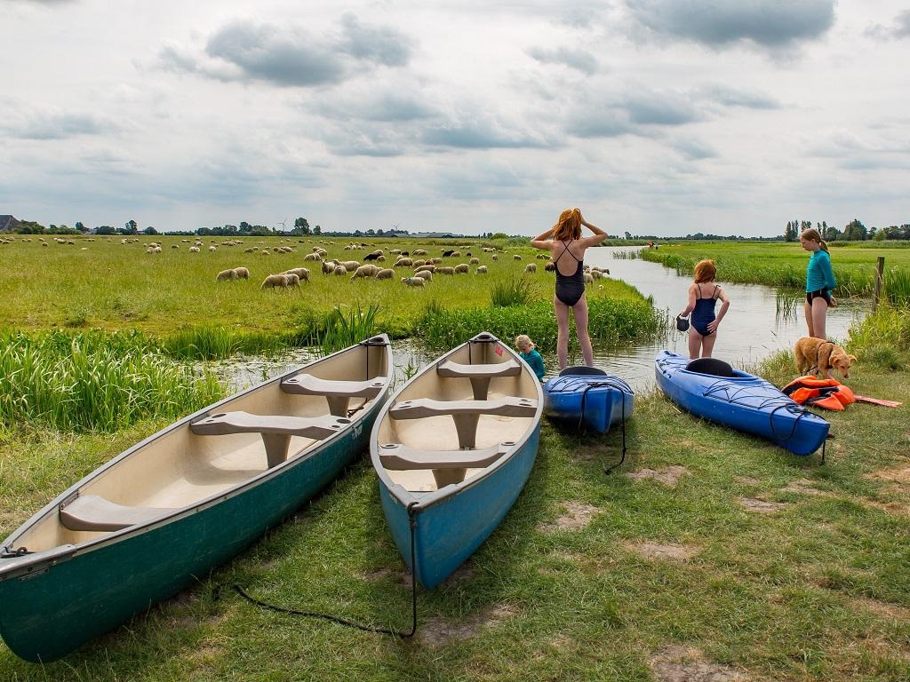 8. Camping it Dreamlan Friesland kanos en kayaks