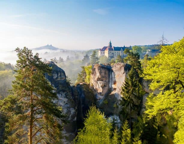 Boheems Paradijs HrubaSkala Vaclav Bacovsky natuurpark tjechie