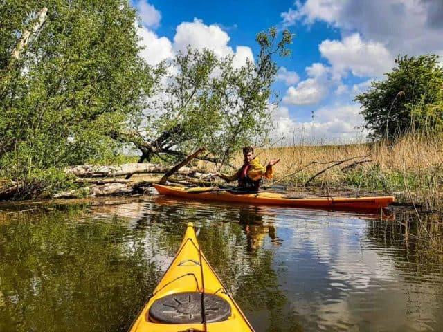 kano kamperen biesbosch