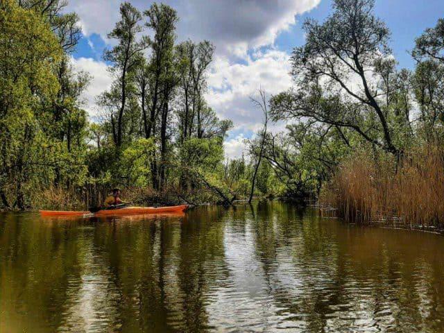 kanoen biesbosch