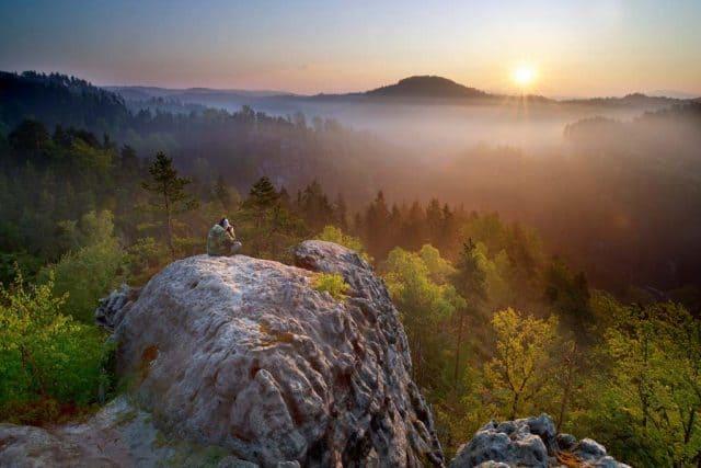 natuurpark tjechie Boheems Zwitserland Vaclav Sojka 1