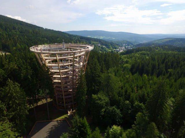 natuurpark tjechie Boomkroonpad Petr Mares