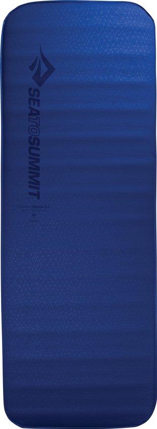 Sea to Summit - Comfort Deluxe S.I. Double - Zelf opbaasbare slaapmat - 10cm - 4225g - Blauw