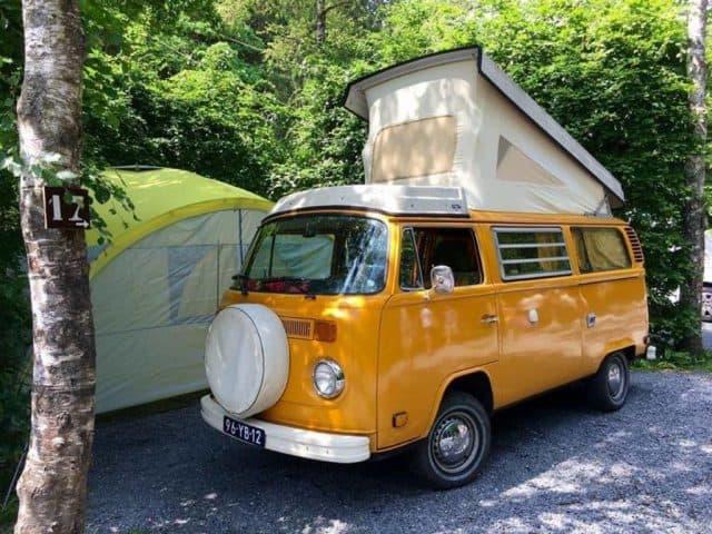 sunny volkswagen camper huren