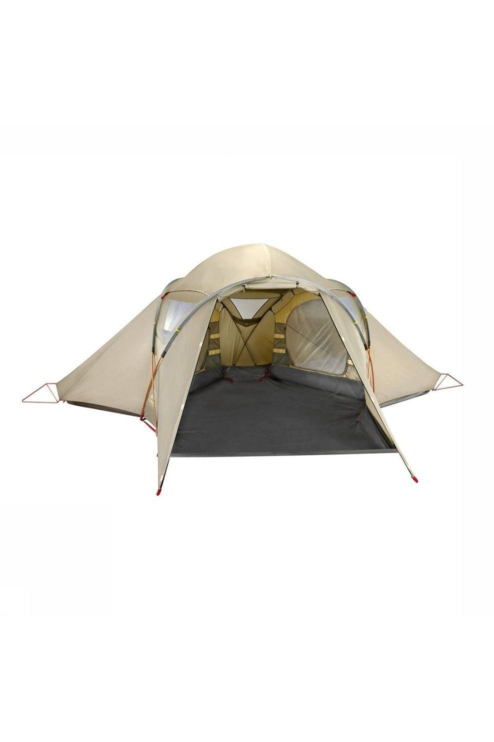 Vaude Tent Badawi 4P Familietent Zandbruin