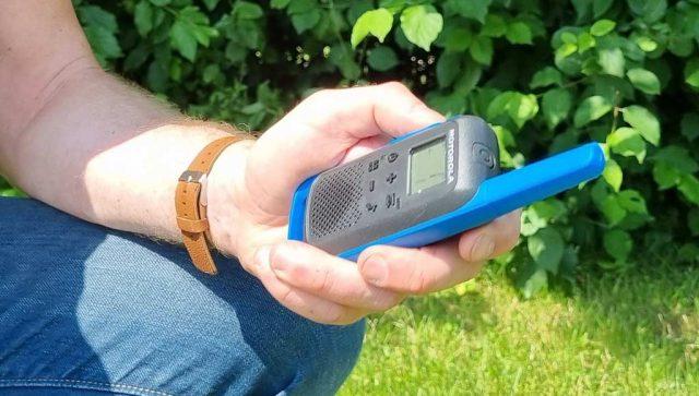 motorola talkabout t62 walkietalkie