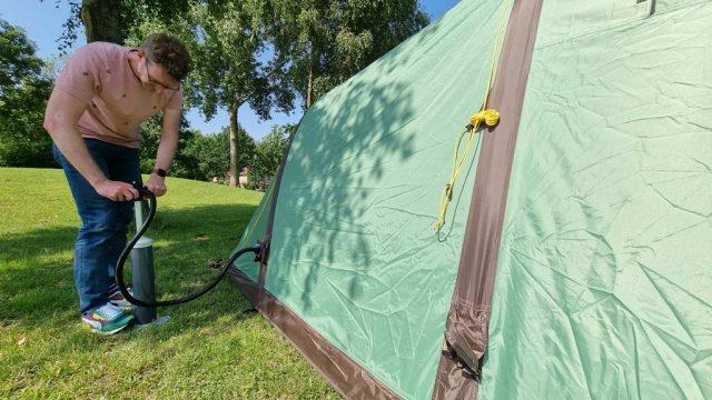 redwood arco 300 air opblaasbare tent